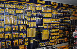 wall of irwin tools